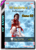 Windows 7 Professional SP1 Game OS 2.5 by CUTA (x64) (2019) Rus