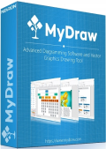MyDraw 4.0.0 RePack (& Portable) by TryRooM (x86-x64) (2019) Eng/Rus