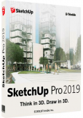 SketchUp Pro 2019 19.2.222 RePack by KpoJIuK (x64) (2019) Eng/Rus