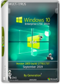 Windows 10 Enterprise LTSC17763.737 Sep2019 by Generation2 (x64) (2019) Multi-7/Rus
