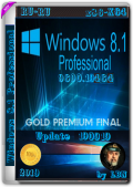 Windows 8.1 Pro 19464 DREY by Lopatkin (x86-x64) (2019) Rus